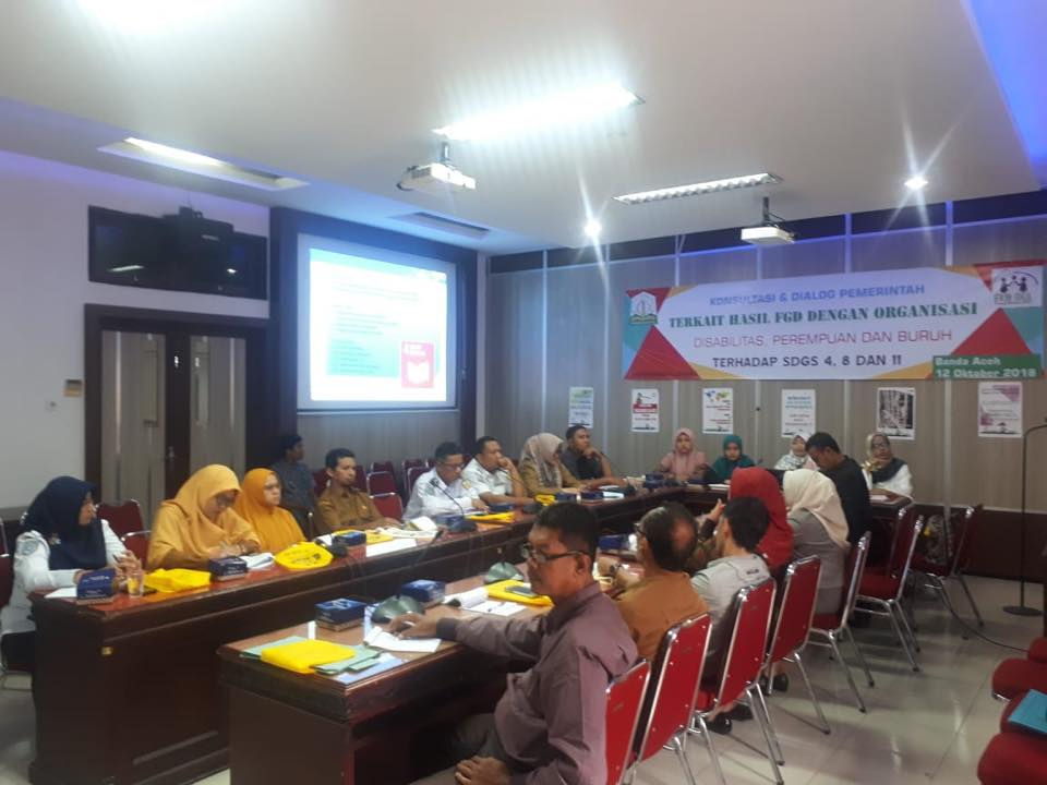 FGD tentang implementasi SDGs 4, 8 dan 11 di Aceh 7