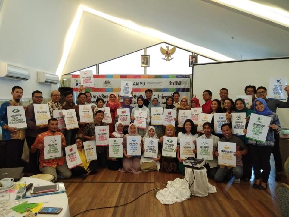 Lokakarya Rencana Kerja SDGs Center & Universitas 1