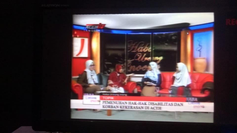 Talkshow TV Aceh dalam rangka Kampanye 16 Hari Anti Kekeraan Terhadap Perempuan (16HAKTP) 1