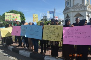 Peringatan 13 tahun peneraman darurat militer di aceh